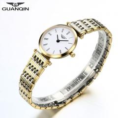 GUANQIN Quartz Women Full Stainless Steel Wristwatch Gift for Girlfriend Mother Friends 3