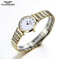 GUANQIN Quartz Women Full Stainless Steel Wristwatch Gift for Girlfriend Mother Friends 4