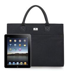 HX Men's Business Bag Handbag Conference Briefcase Leisure Affairs Bag File Bag Oxford Computer Bag black f (40*30*6cm)