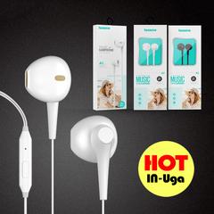 In-Ear earphone HIFI Headphone with microphone Earpods with Volume Control white ios∧roid