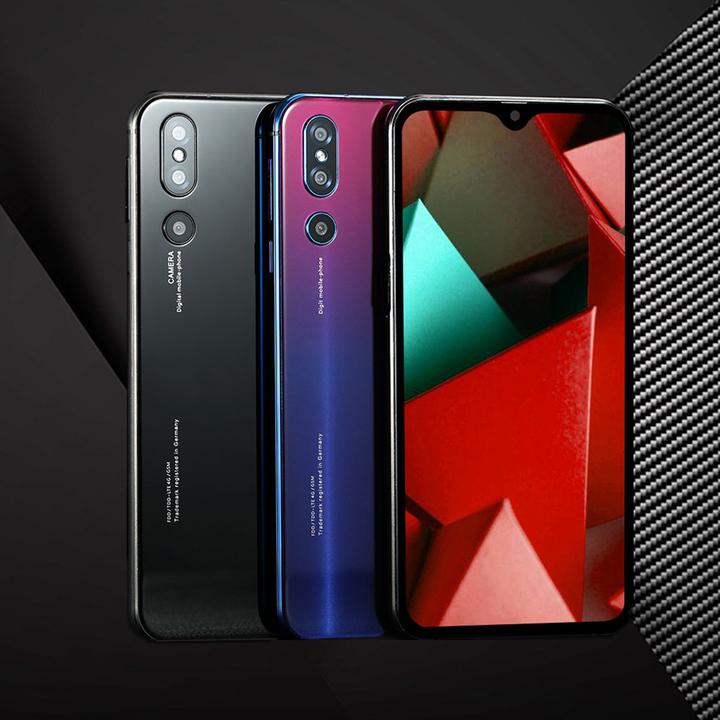 "DUXIU-X23 4th GEN Smartphone Octa-Core 6.3""Dual SIM Side Fingerprint&Face ID phone 3+32G 5000mAh black"