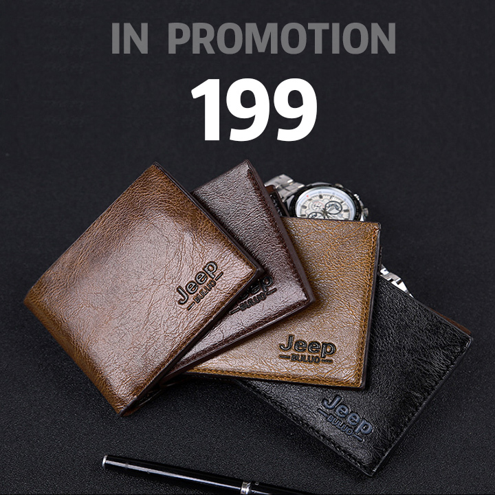 b616778a39fe Vintage Men Leather Luxury Short Slim Male Purses Money Clip Wallet black s