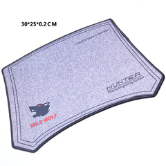 Large mouse pad black