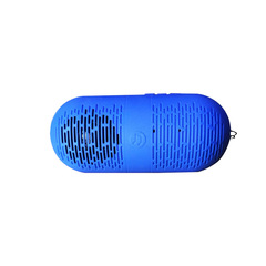 Portable Wireless Bluetooth Speaker CP/Phone stereo Bluetooth audio Capsule&Lightweight blue 12.2x5.2x5.2cm