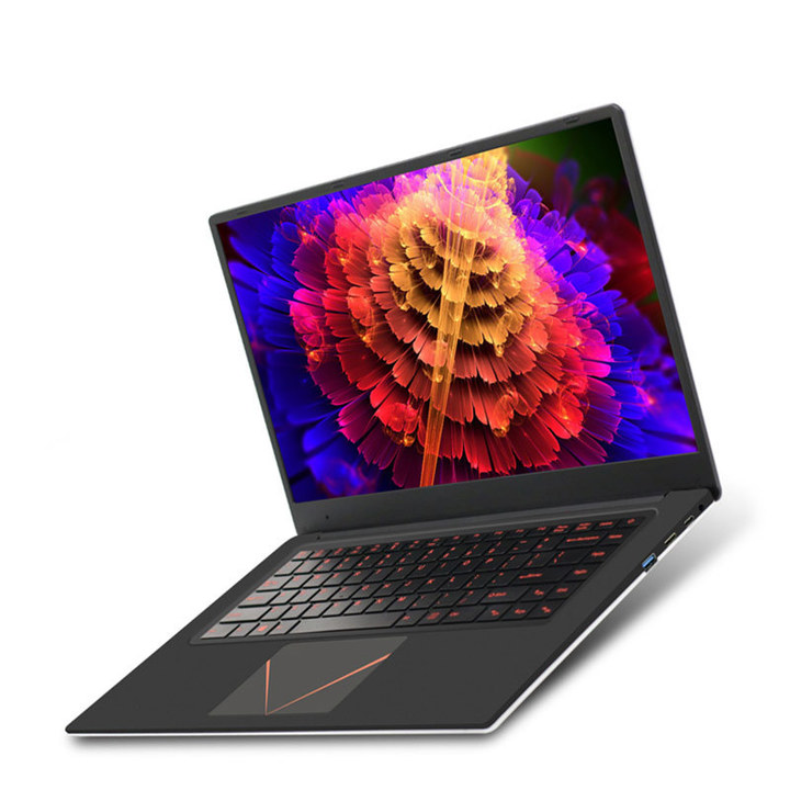 6G+128G+1000G New Narrow Bezel laptop Intel Quad Core laptops15.6inch Large Capacity notebook Outside-White&Inside-Black 6G+128G
