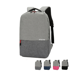 Laptop handbag/Double shoulder bag/fashion briefcase,waterproof&breathable&wear-resistant grey-15.6inch