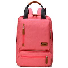 Double shoulder bag/Laptop handbag/fashion briefcase,waterproof&breathable&wear-resistant red-27X15X42cm