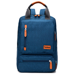 Double shoulder bag/Laptop handbag/fashion briefcase,waterproof&breathable&wear-resistant blue-27X15X42cm