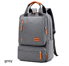 Double shoulder bag/Laptop handbag/fashion briefcase,waterproof&breathable&wear-resistant gery-27X15X42cm