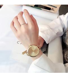 luxurious quartz movement watches women graceful stylish girls office ladies watch gold Dia:38mm,Thickness:8mm
