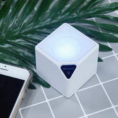 Small Square Wireless Speakers white 49*49*53mm