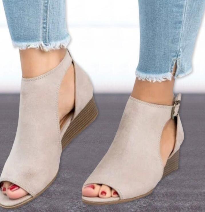 545bd4e78dc0 ... mid heel ladies peep toe women shoes beige 4  Product No  10284492.  Item specifics  Brand
