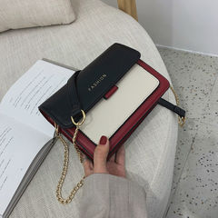 Mini Women Split Leather Crossbody Bags For Women Shoulder Bag Chic Chain Original Design black m