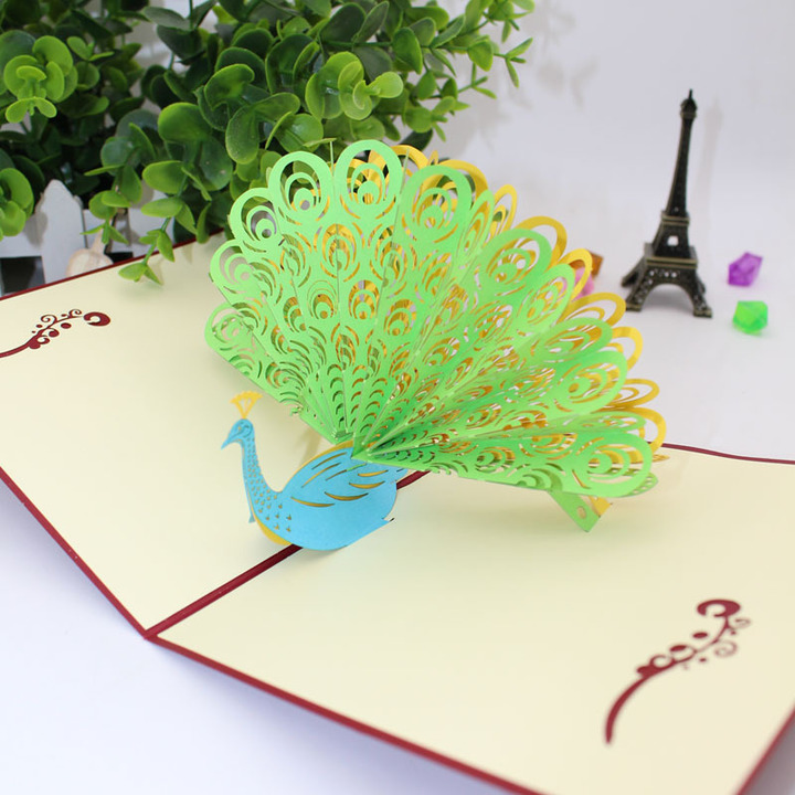 3D Origami: Peacock : 9 Steps (with Pictures) - Instructables | 720x720