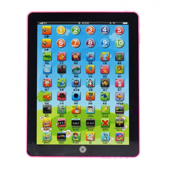 Children's tablet computer learning machine education machine toy gifts Random 7.28x5.51x0.79in