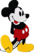 Children's computer embroidered cloth stickers, Disney patch stickers,
