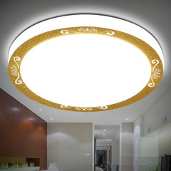 LED ceiling lamp, bedroom living room hotel ceiling lamp, home decoration gold 33cm 30