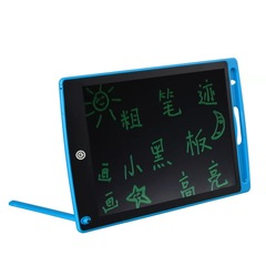 Office electronic drawing board LED tablet for children and adults blue 8.6x5.7in