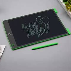 Office electronic drawing board LED tablet for children and adults green 8.6x5.7in