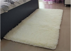 Fluffy Soft  warm Cosy carpet 5*7 Off- White 5*7