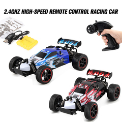 1:18 ratio;4-channel 2.4GHz high-speed remote control racing car;children toy car RED one size
