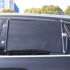 Car Window Insulation Sunshade Curtain Black Rear Window Mesh Visor Shield one one