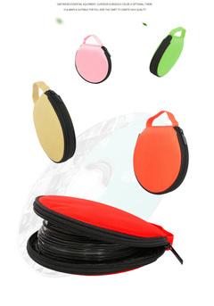 Generic 20Pcs CD DVD Discs Oxford Handbags High-capacity Storage Bag Package With Zipper Closure