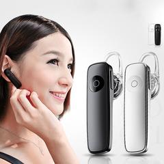 Business Bluetooth Earphone Wireless Sports Headset With Micphone Handsfree Phone Call Headphone black