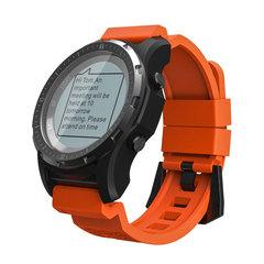 S966 GPS Smart Watch Men Heart Rate Monitor Air Pressure Fitness Tracker Wristwatch Compass Altitude orange men wome smartwatch