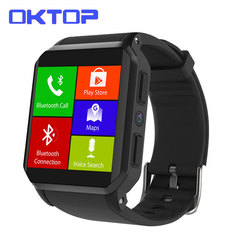KW06 Smart Watch IP68 waterproof Heart Rate Monitor SIM Card Android 5.1 512MB+8GB MTK6580 Watches black smartwatch