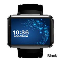 DM98 GPS Smart Watch 2.2 inch Screen MTK6572 900mAh Battery Android OS 3G WCDMA WIFI Sports Tracker black men wome smartwatch