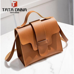 Explosion promotion in 2019, Spike limit purchase 10, Handbag, Shoulder oblique pocket Brown ordinary
