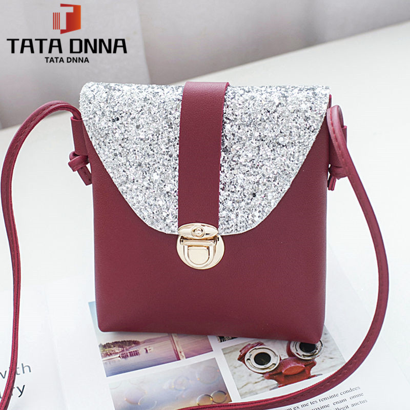 Promotion of new women's bags,Patent Leather Women Bag Ladies Cross Body Shoulder Bags Handbags Blue one size 3