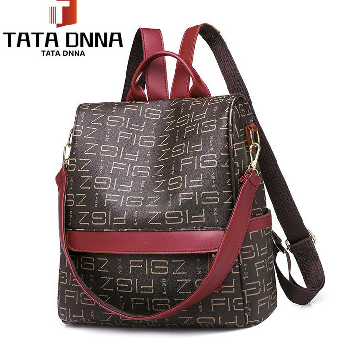 Boom Promotion in 2019, Large Capacity Backpack,Women Casualr Bag Bagpack Travel Bags brown one size