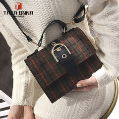 fashion single shoulder skew square bag\ women crossbody bag\handbags \handbags for ladies brown one size a80522 pu