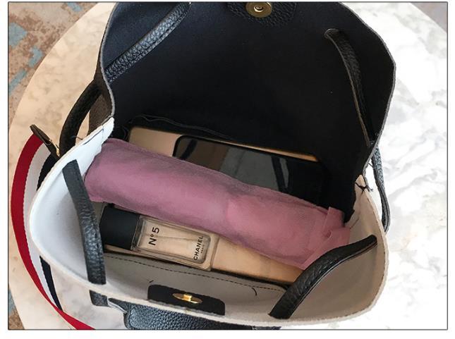 Women Bag Handbag Purse Ladies PU Leather Crossbody Bag 3Pcs/Leisure bag capacity big bag wholesale pink 22x25x16cm 33