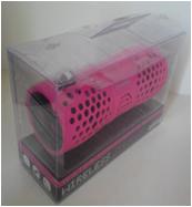 water-proof IPX6 wireless speaker black 1.8×0.68×0.82