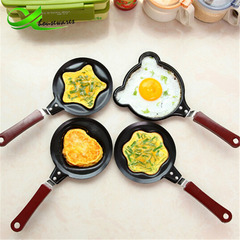 Mini love omelette pot non-stick pan small frying pan omelette pan bear normal