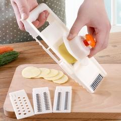 Multifunction Shredder Kitchen Cut Vegetables Section Household Julienne Wipe Silk Cutting Potato white normal
