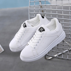 women's white shoes, lady's casual sports shoes,white skateboard shoes for women,sports shoes Black label 40