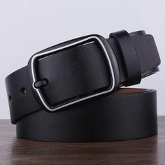 High quality retro PU men's belt, retro pin buckle belt,men belts,fashion accessories black 105`125cm