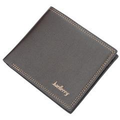 Short wallet for men, Men's bags, Multi-function simple purse,Leather wallets men handbag coffee 12*10*2cm