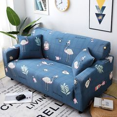 Fully surrounded elastic sofaset  four seasons sofa set sofa cushion 1 -4 seaters sofa cover 1-Fulamingge 4 seaters(235-310cm)