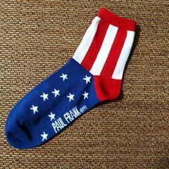 Good quality cotton socks for men,Paul Frank men's cotton socks,Elastic monkey socks red 26~28cm one size