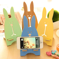 Cartoon Rabbit Shape Phone Holder Smartphone Stand Holder Phone Stand Covers Phone Accessories Yellow One Size