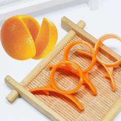 5Pcs/Set Orange Peeler Fruit Peeler  Zester Fruits Cutter Slicer Practical  Plastic  Kitchen Tools One Color One Size