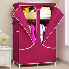 Home Living Wardrobe Storage Cabinet Portable Non-woven Fabric Home Storage Closets  DIY Wardrobe Style A