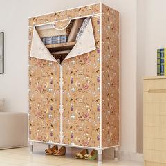 DIY Wardrobe Home Living Wardrobe Storage Cabinet Portable Non-woven Fabric Home Storage Closets Style A