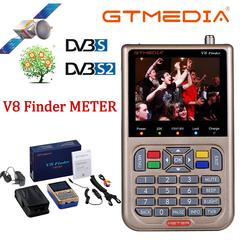 GTMEDIA V8 Finder Satellite Finder Digital Sat Finder DVB S2 Full HD 1080P Meter Satfinder Freesat