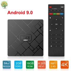 HK1 mini Android 9.0 Smart TV Box RK3229 Quad-core 2G 16G 2.4G WiFi Set top Box 4K HD Media Player